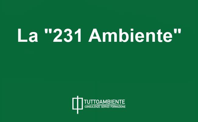 La 231 ambiente