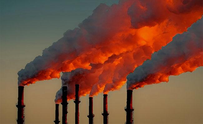 Emissioni da un impianto di combustione