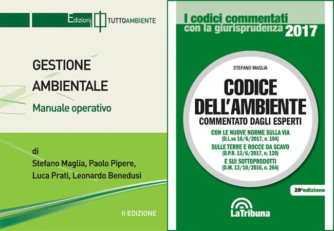 Due libri sull'ambiente scritti da Stefano Maglia