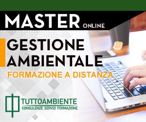 Master online Gestione Ambientale 2018