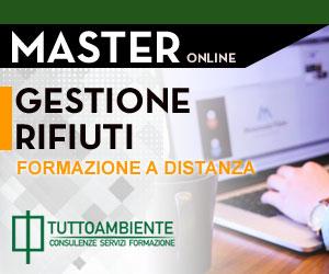 Master online Gestione Rifiuti 2018