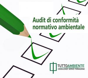 Audit conformità normativo ambientale