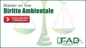 Master Diritto Ambientale (Formazione a Distanza)
