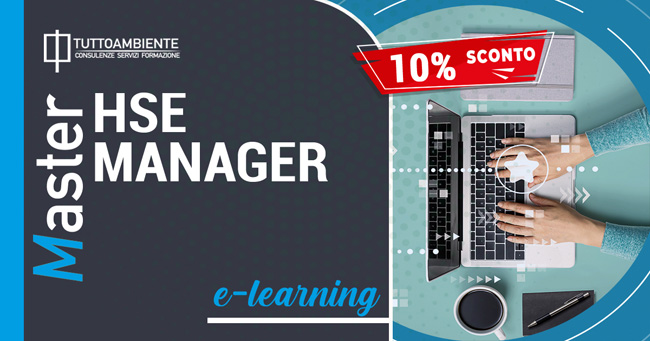 Master FAD HSE Manager sconto 10%