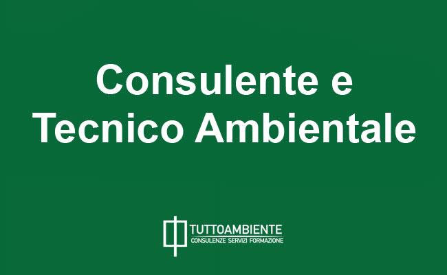 Consulente e Tecnico Ambientale