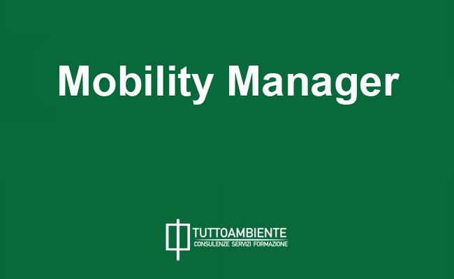 Mobility Manager: responsabile mobilità delle aziende