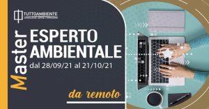 MASTER ESPERTO AMBIENTALE dal 28/09/21 al 21/10/21